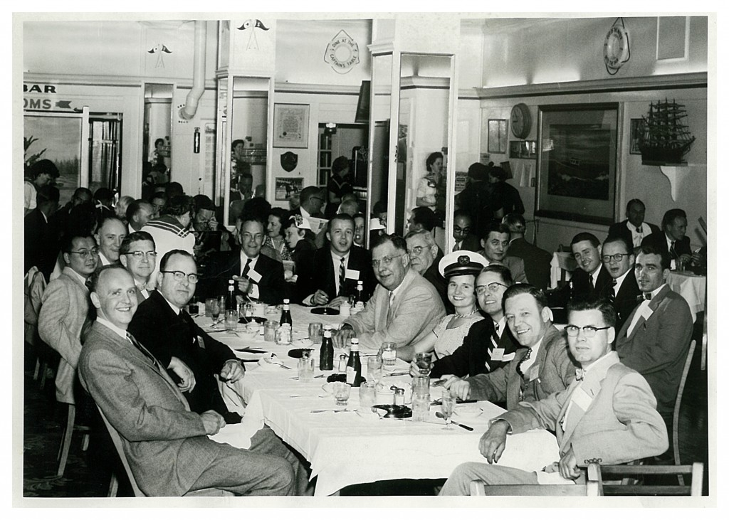 STSA Past Presidents Identified in 1955 AATS Annual Meeting Photo