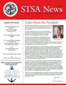 STSA News Fall 2015