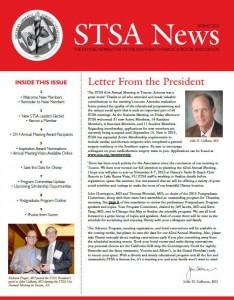 STSA News Spring 2015