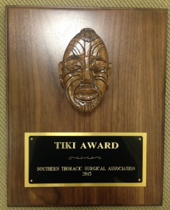 2015 STSA Tiki Award
