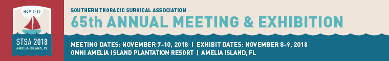 STSA 65th Annual Meeting Banner